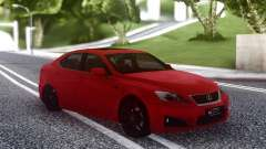 Lexus IS-F 2008-2012 for GTA San Andreas