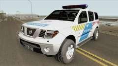 Nissan Pathfinder Magyar Rendorseg (Feher) for GTA San Andreas