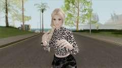 Helena Casual Black Skirt for GTA San Andreas