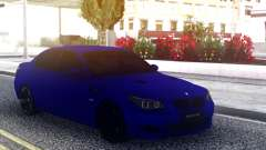 BMW M5 E60 Blue Sedan for GTA San Andreas