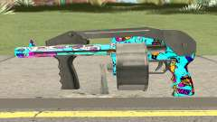 Shotgun (Cartoon Skin) for GTA San Andreas