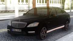 Mercedes-Benz S65 AMG 2012 Black for GTA San Andreas