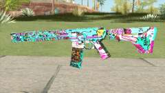 M4 (Cartoon Skin) for GTA San Andreas