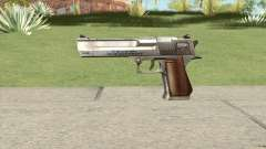 Desert Eagle Chrome GTA IV for GTA San Andreas