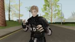 Leon RE 2 Remake (Classic Outfit) Meshmod for GTA San Andreas