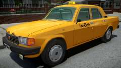 GAZ-31029 Taxi Yellow for GTA 4