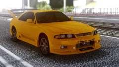Nissan Skyline R32 GT-R Orange for GTA San Andreas
