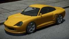 Pfister Comet Yellow for GTA 4