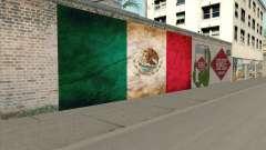Graffiti De La Bandera De Mexico for GTA San Andreas