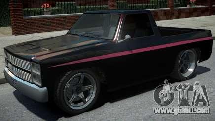 Rancher LowRide Black for GTA 4