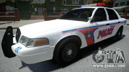 Ford Crown Victoria Woodville Police 2011 for GTA 4