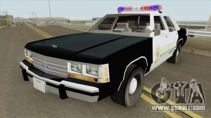 Sheriff Car RE:2 Remake for GTA San Andreas