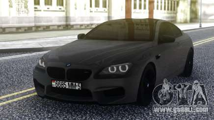 BMW M6 Grey for GTA San Andreas
