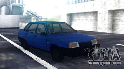 VAZ 21099 Blue Sedan for GTA San Andreas