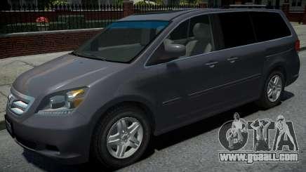 Honda Odyssey US 2006 for GTA 4