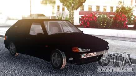 VAZ 2114 Black Bumper for GTA San Andreas