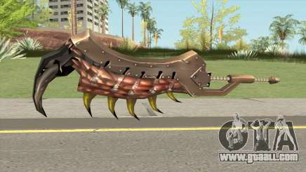 Monster Hunter Weapon V5 for GTA San Andreas