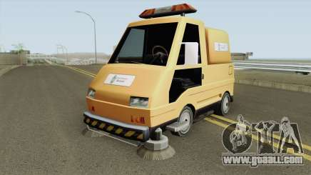 Sweeper Romania Bucuresti for GTA San Andreas