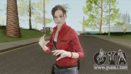 Claire Redfield From RE 2 Remake for GTA San Andreas