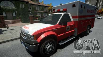 Vapid Sadler Ambulance Non-ELS for GTA 4