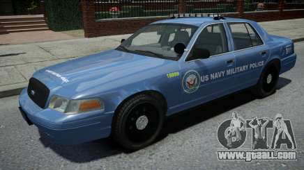 Ford Crown Victoria US NAVY Military Police for GTA 4