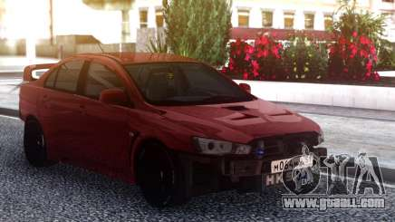 Mitsubishi Lancer X Tuning for GTA San Andreas