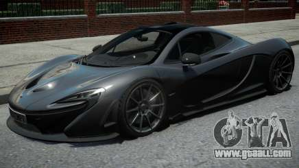 McLaren P1 2013 Black for GTA 4
