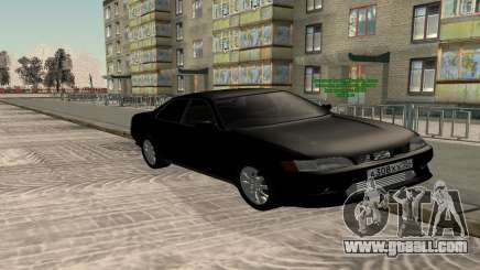 Toyota Mark II X90 Black for GTA San Andreas