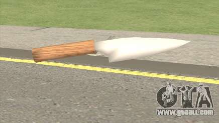 Stainless Steel Knife for GTA San Andreas