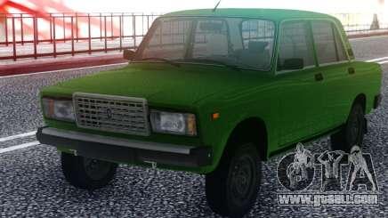 2107 Green Sedan for GTA San Andreas