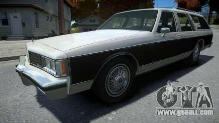 Oldsmobile Custom Cruiser 1985 for GTA 4