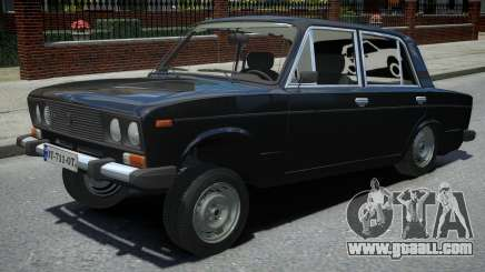 VAZ 2106 Black for GTA 4