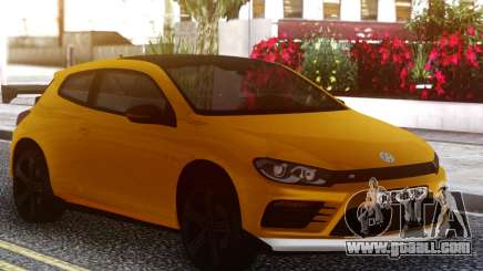 Volkswagen Scirocco GT Yellow for GTA San Andreas