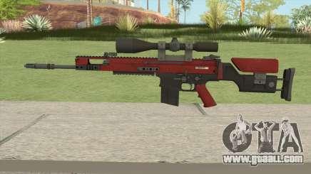 CS-GO SCAR-20 (Webs Darker Skin) for GTA San Andreas