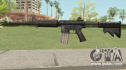 M4A1 HQ Skin GTA IV for GTA San Andreas