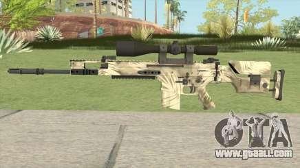 CS-GO SCAR-20 (Palm Skin) for GTA San Andreas