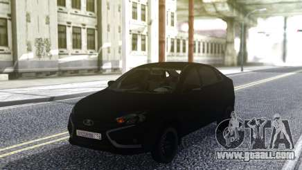 Lada Vesta Stock Sedan for GTA San Andreas