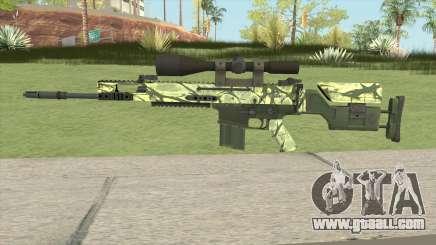 CS-GO SCAR-20 (Jungler Skin) for GTA San Andreas