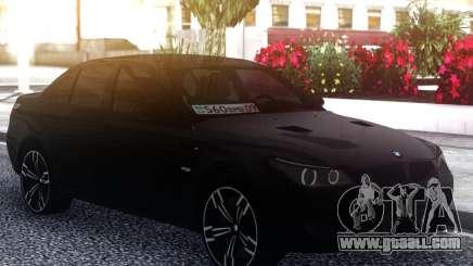 BMW M5 E60 M for GTA San Andreas