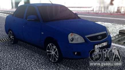 VAZ 2170 Drives for GTA San Andreas