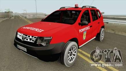 Dacia Duster Pompierii 2016 for GTA San Andreas