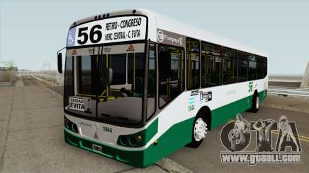 Linea 56 Todobus Pompeya II Agrale MT15 Interno for GTA San Andreas