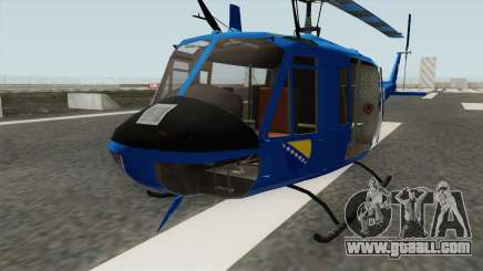 Bell UH-1 Huey POLICIJA BiH for GTA San Andreas