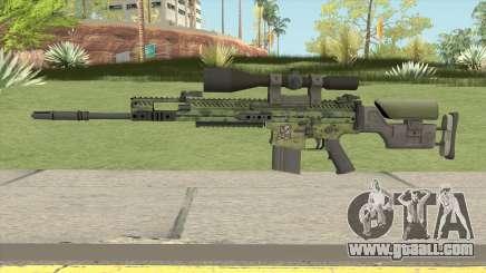 CS-GO SCAR-20 (Peacemaker Skin) for GTA San Andreas