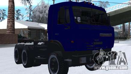 KamAZ 54115 WINTER for GTA San Andreas
