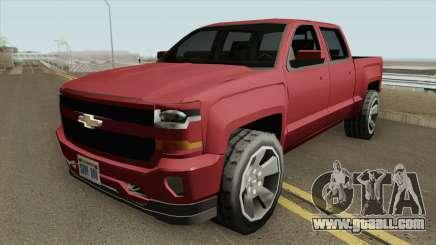 Chevrolet Silverado 2017 (SA Style) for GTA San Andreas