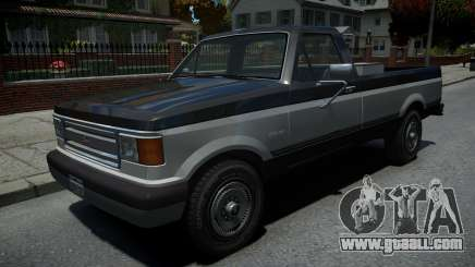Vapid Sadler Retro Pick-Up Truck v1.2 for GTA 4