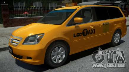Honda Odyssey US Taxi 2006 for GTA 4