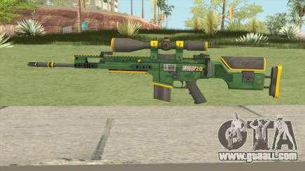CS-GO SCAR-20 (Powercore Skin) for GTA San Andreas
