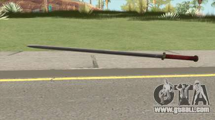 Bronze Katana (Dynasty Han) for GTA San Andreas